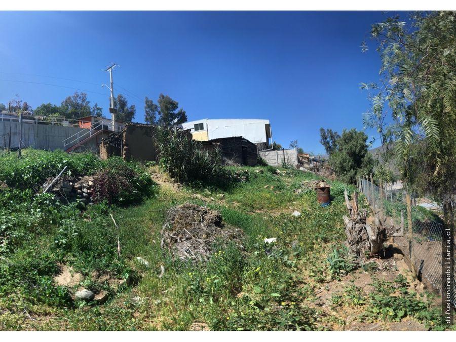 sitio 440 m2 en illapel zona urbana agua y luz instaladas