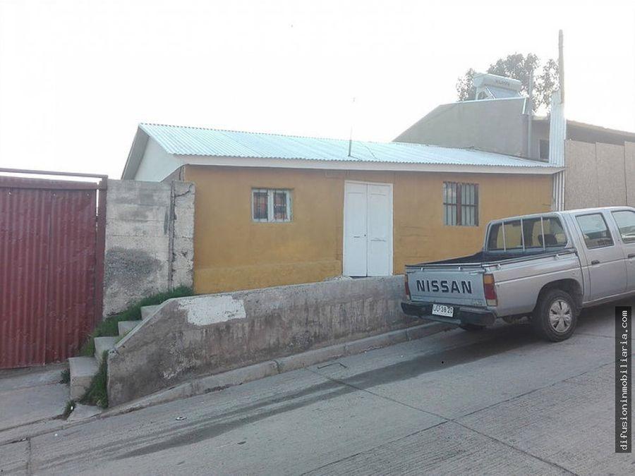 vendo sitio centro de illapel incluye casa