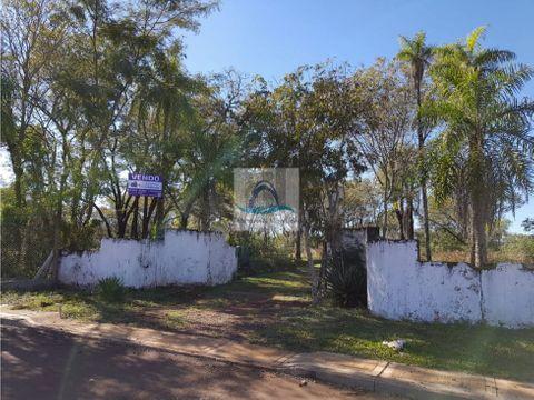 terreno frente al rio candelaria misiones
