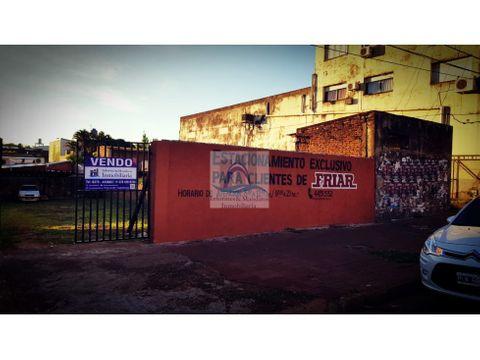 vendo terreno comercial s av uruguay