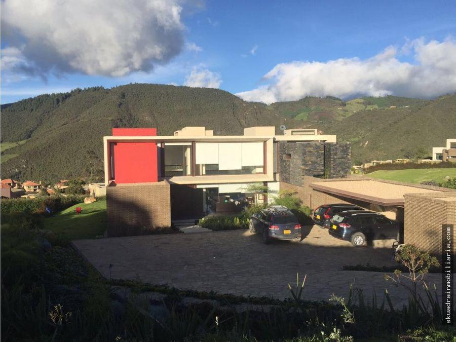 venta casa la calera casa de campo