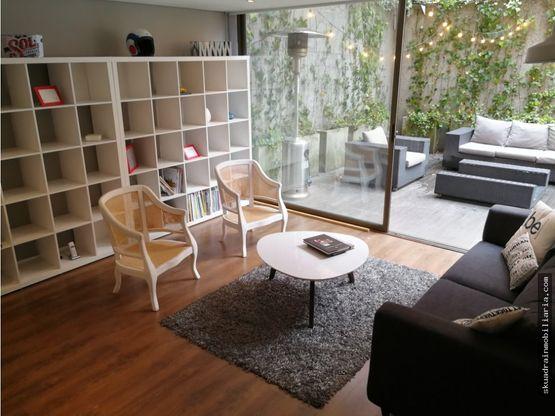 vendo apartaestudio loft con terraza en rosales