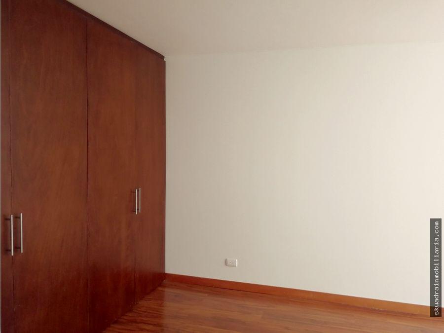 arriendo apartamento en el chico cll 96 con 17