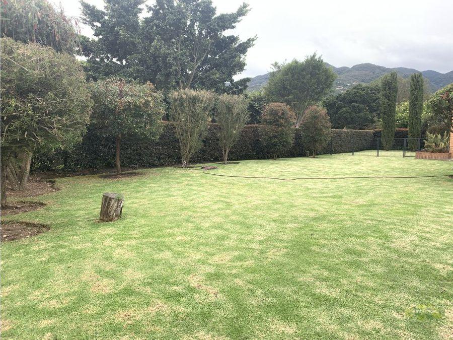 casa en arriendo hacienda san simon guaymaral