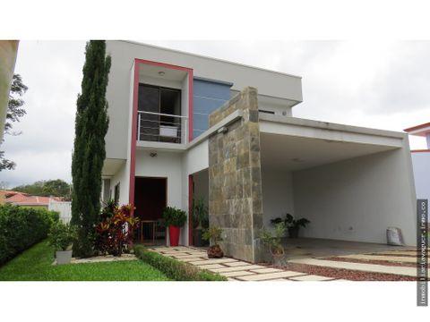 casa en venta residencial las palmas palmares