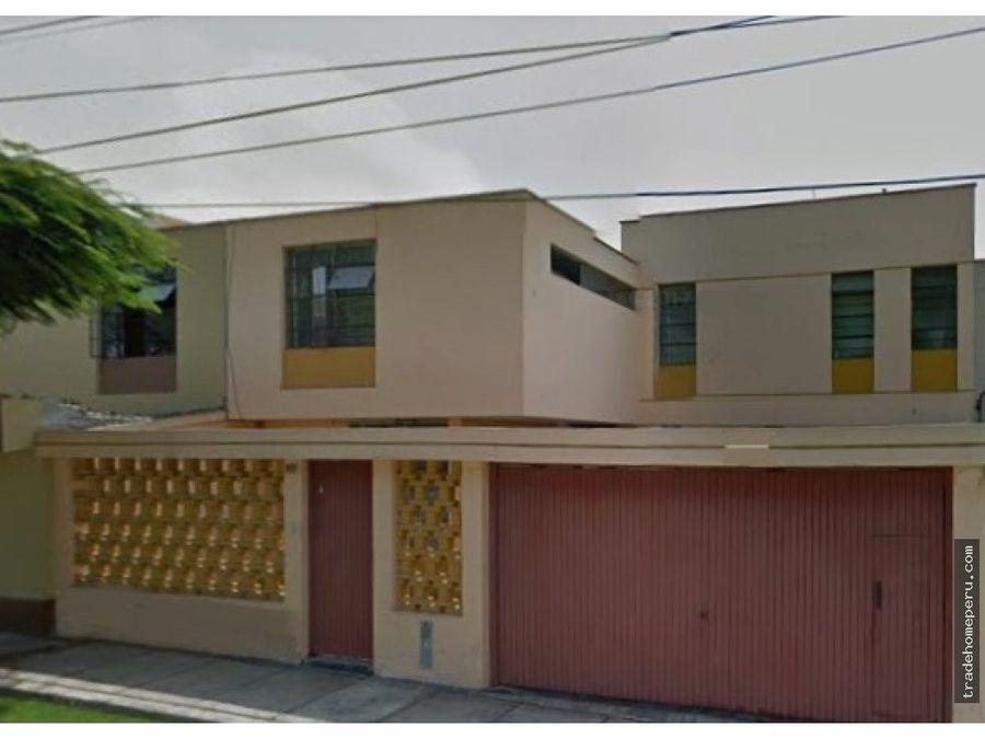 casa a la venta en surco urb vista alegre