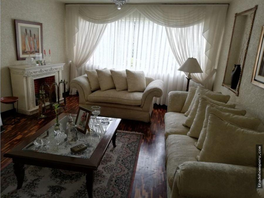 casa a la venta en san borja urb san borja