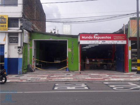 se vende local comercial en el centro de pereira