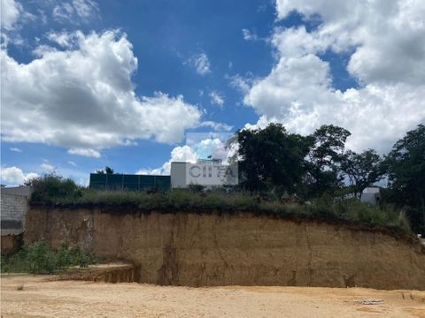 excelente terreno plano en cuarta seccion de sayavedra