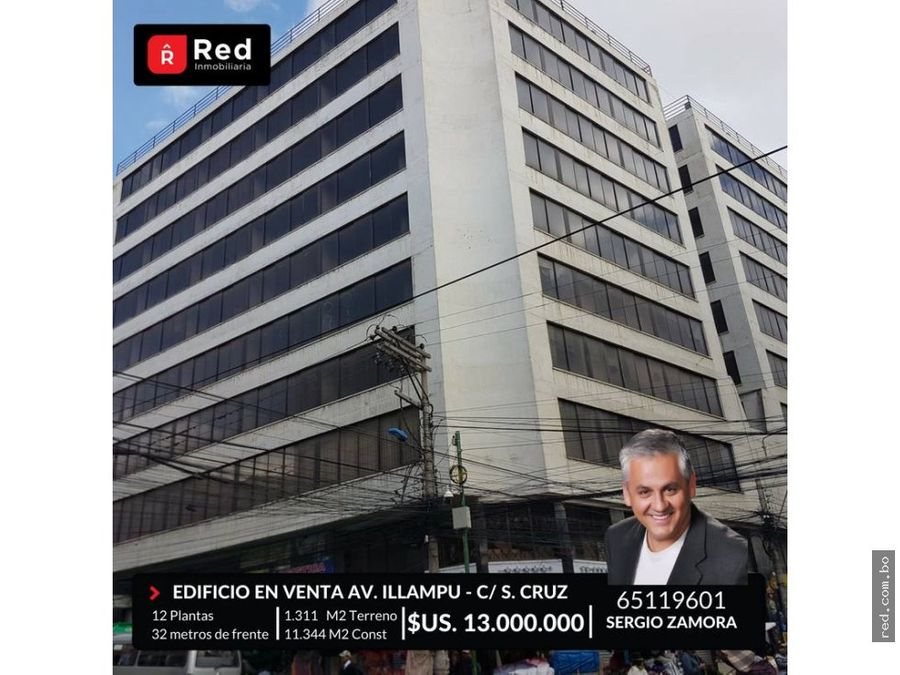 edificio de 12 plantas en venta