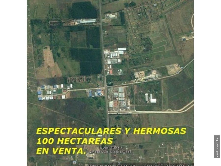 espectaculares 100 hectareas km 22 warnes