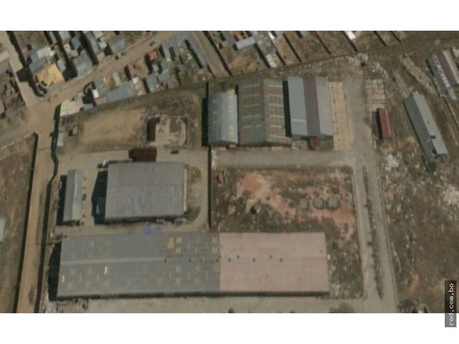 galpones industriales en venta terreno