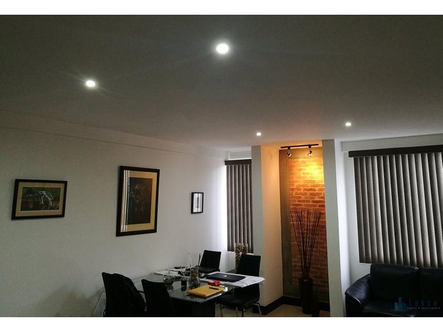 apartamento amueblado en barrio dent san pedro