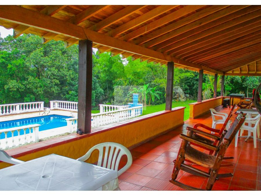 alquiler finca de recreo en copacabana