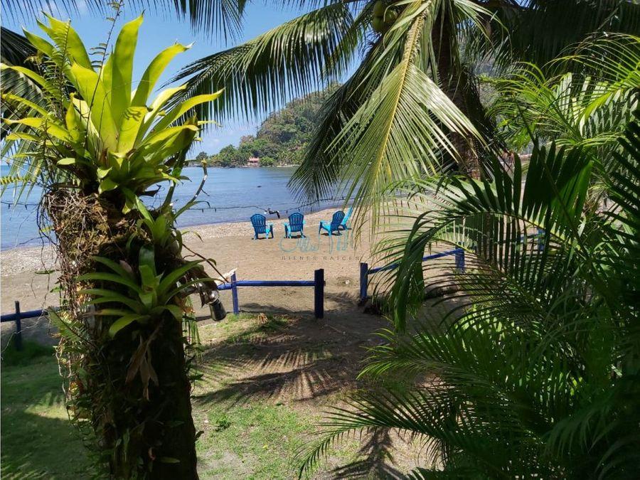 alquiler de casa en la playa en portobelo