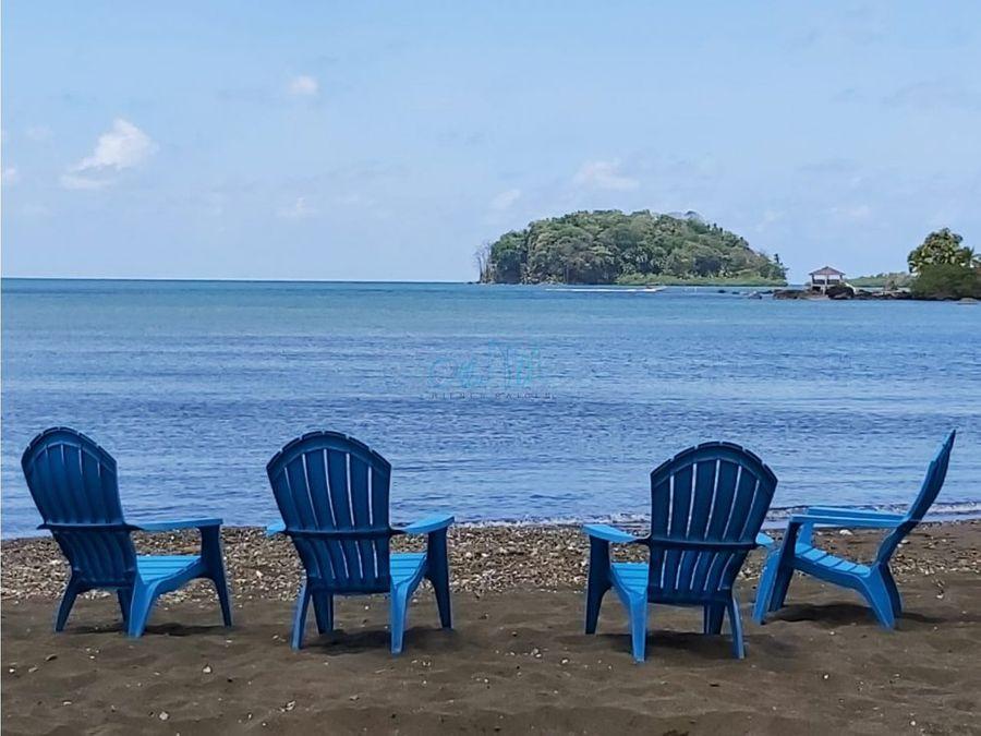 alquiler de casa en la playa en portobelo ollu2674