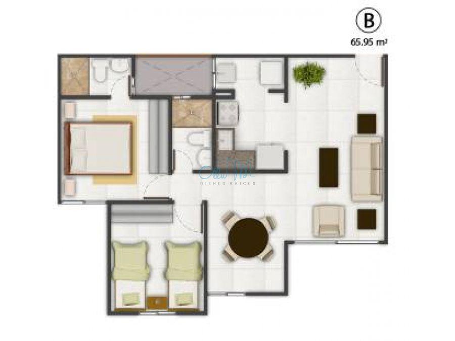 venta de apartamento en las cumbres