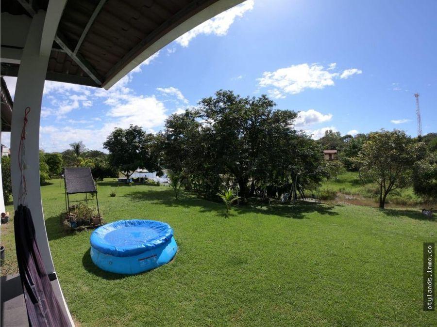 casa para alquiler hacienda del lago