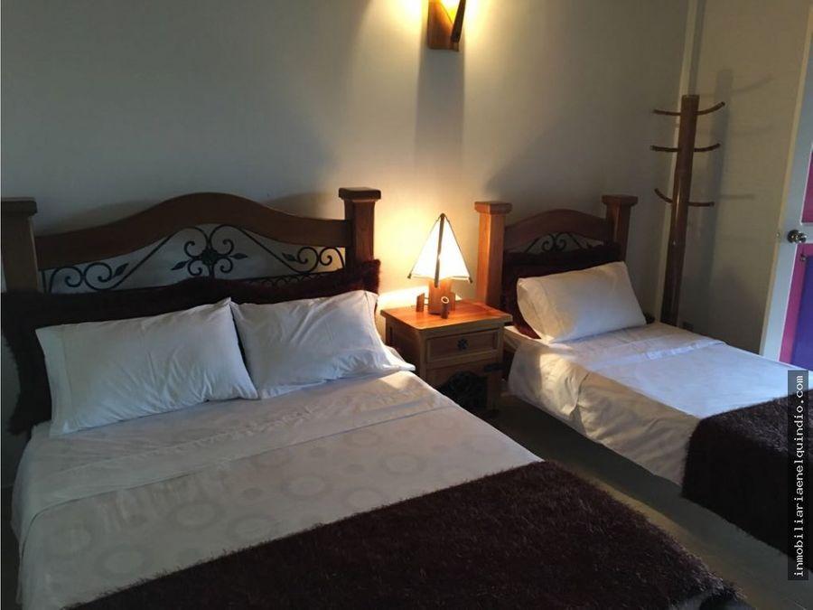 venta finca hotel pueblo tapao quindio