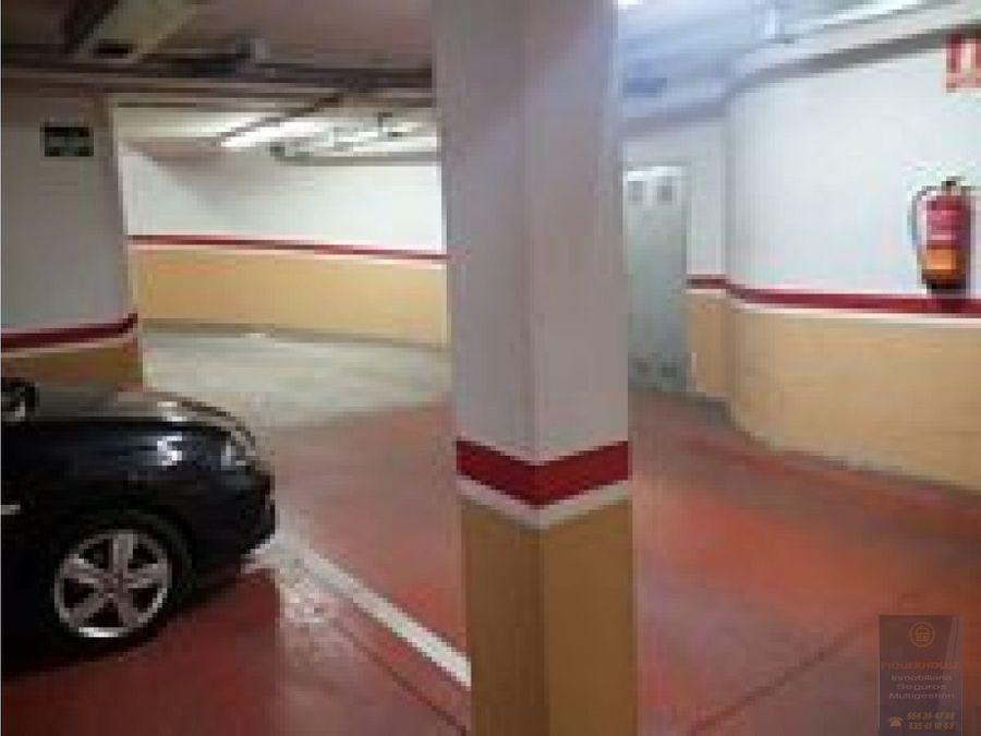 plaza de garaje en santa olalla