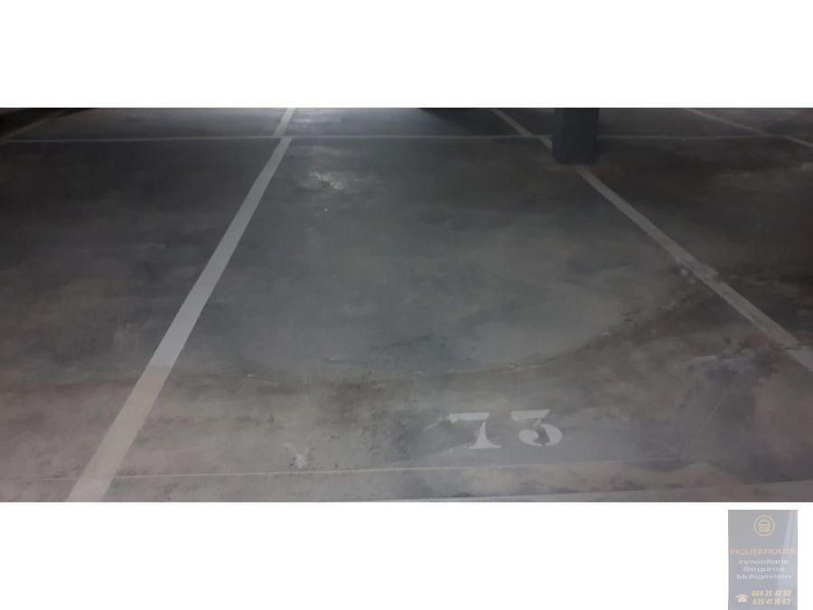 plazas de garaje en gerindote