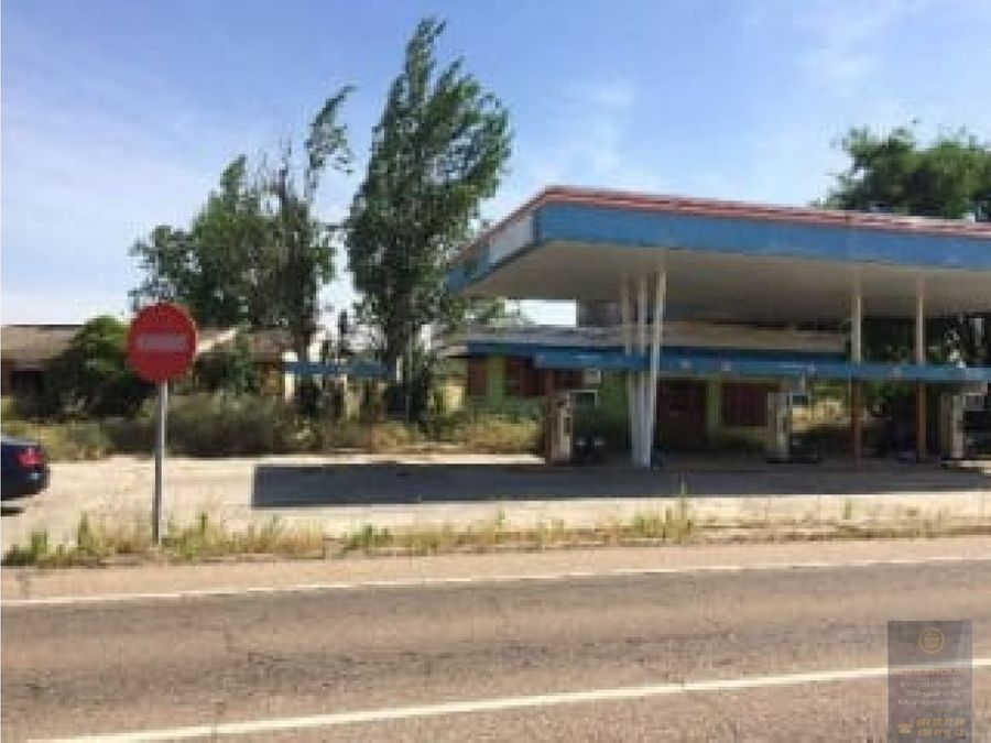 gasolinera en montearagon