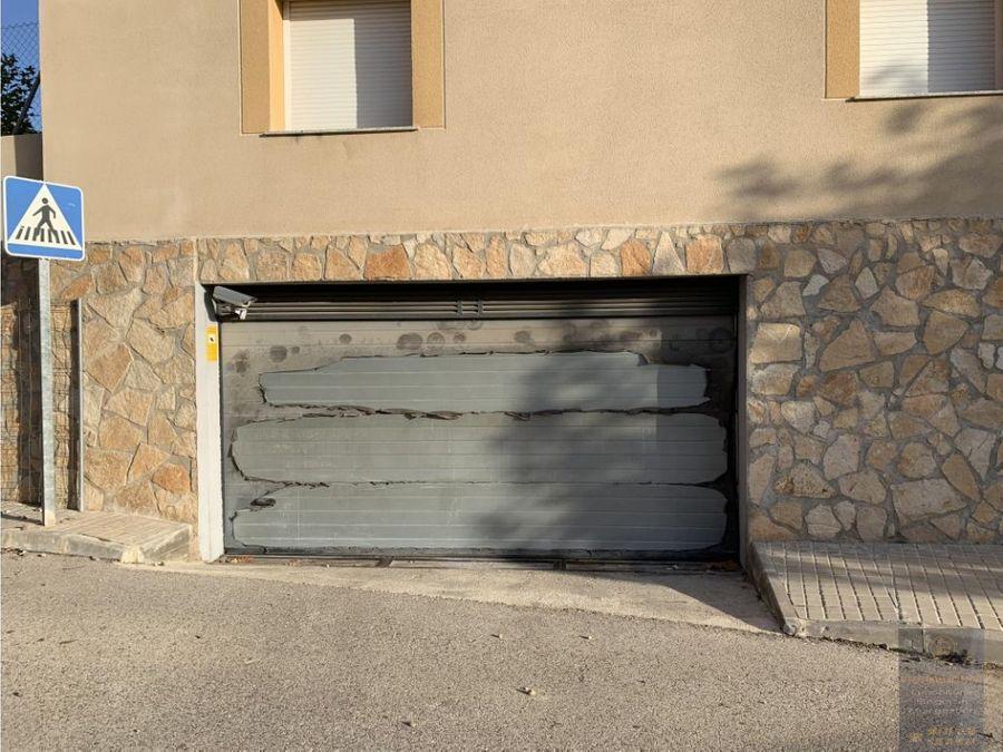 plazas de garaje en mentrida