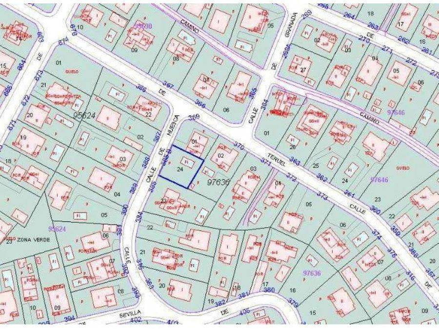 parcela urbana en la urbanizacion calipo fado