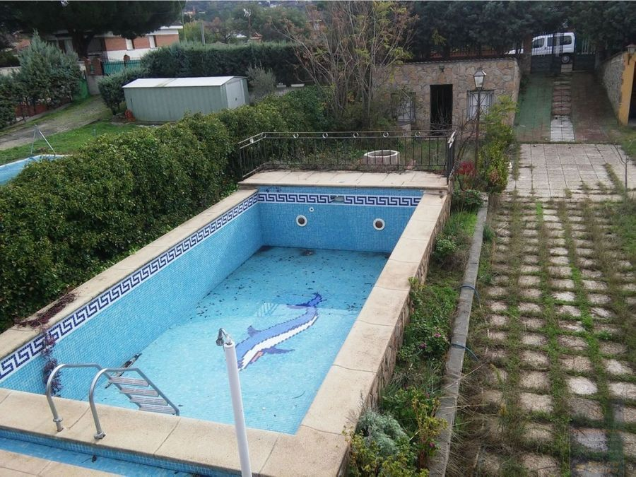 chalet independiente sta cruz de retamar con piscina