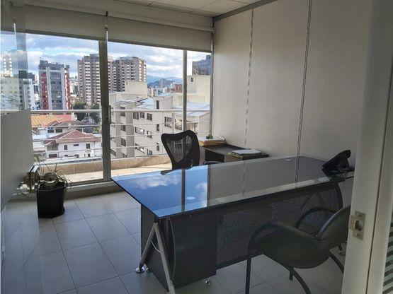 rento oficina amoblada 75 m2