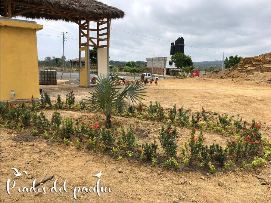 vendo terrenos tonsupa prados del pacifico