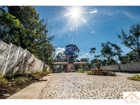 vendo terreno urbanizado en sacatepequez