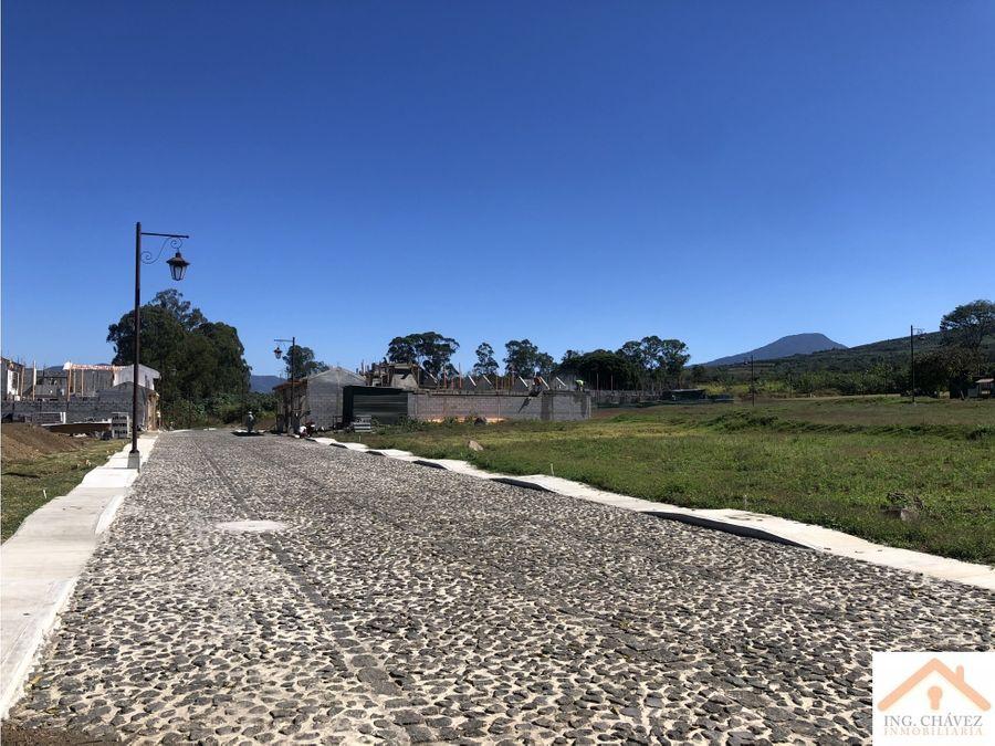 terrenos en venta en ciudad vieja sacatepequez
