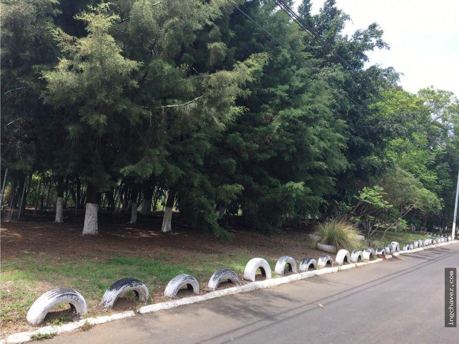 vendo lote en pinares de san cristobal