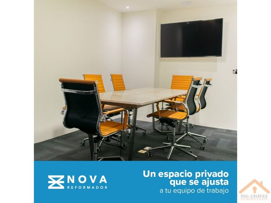 vendo oficinas en nova reformador zona 9