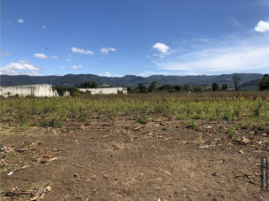 terreno en venta en san miguel petapa