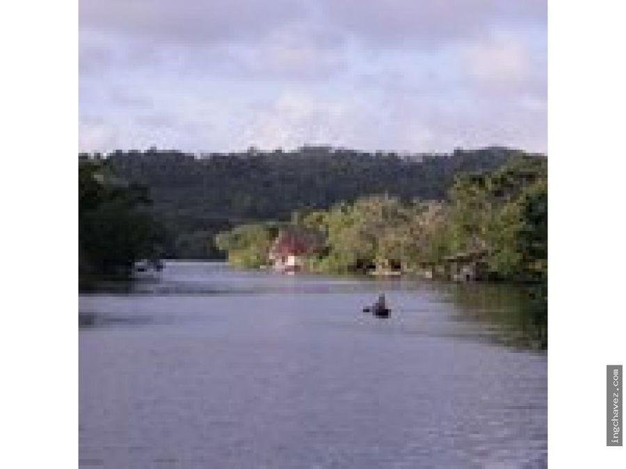 vendo terreno en rio dulce