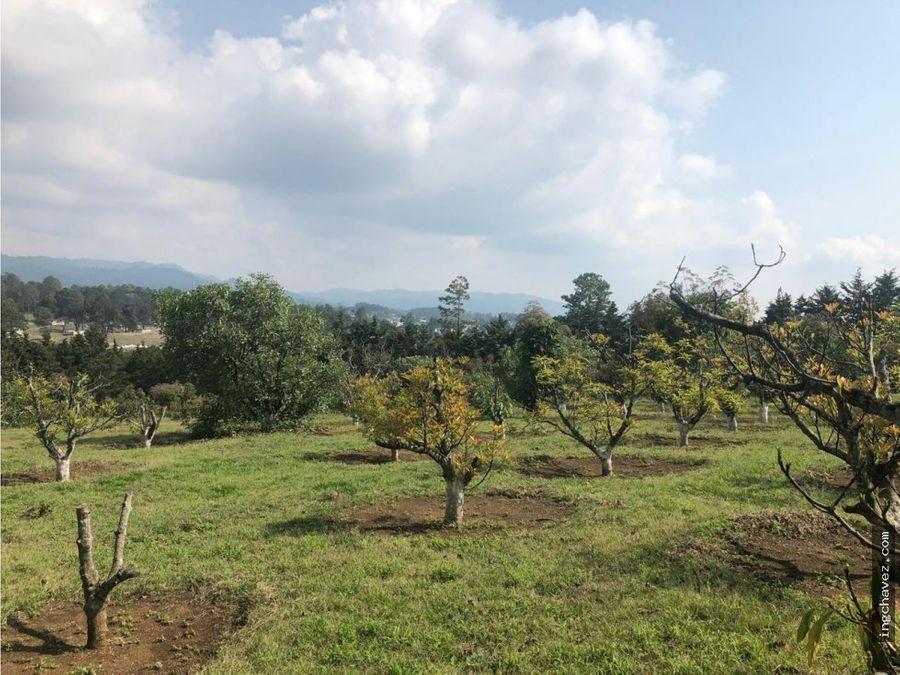 vendo 2 mz de terreno en chimaltenango