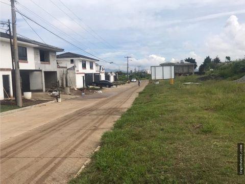 terreno en venta por hacienda real zona 16