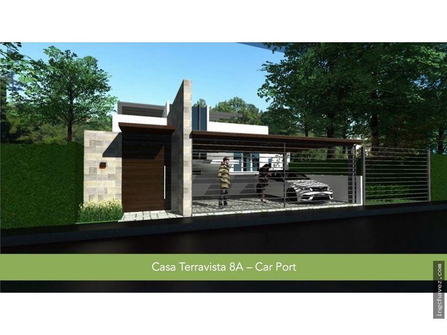vendo casa nueva en terravista carretera el salvador