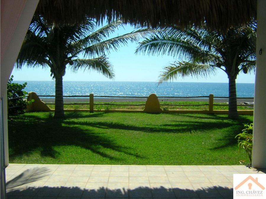 vendo casa frente al mar