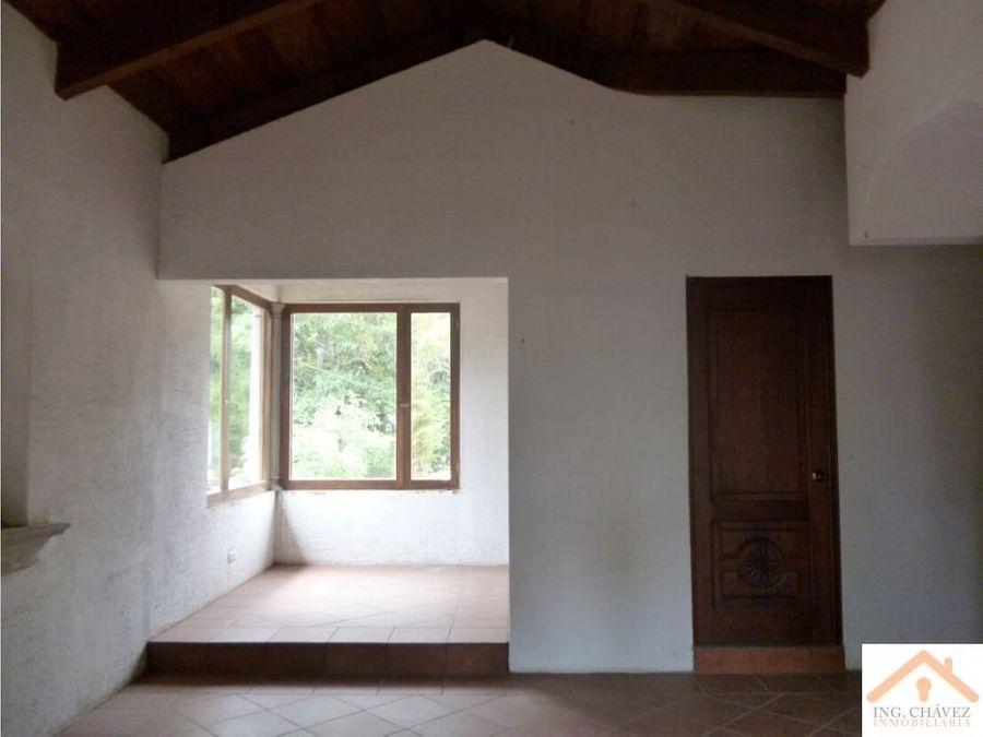 vendo casa campestre en zorzoya sacatepequez