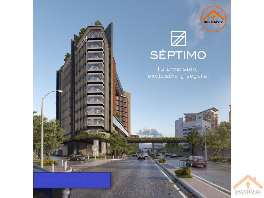 vendo apartamentos y oficinas en zona 4