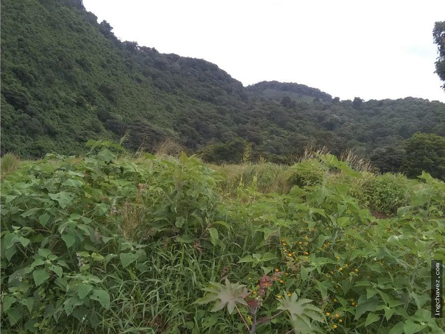 vendo terreno lotificado en amatitlan