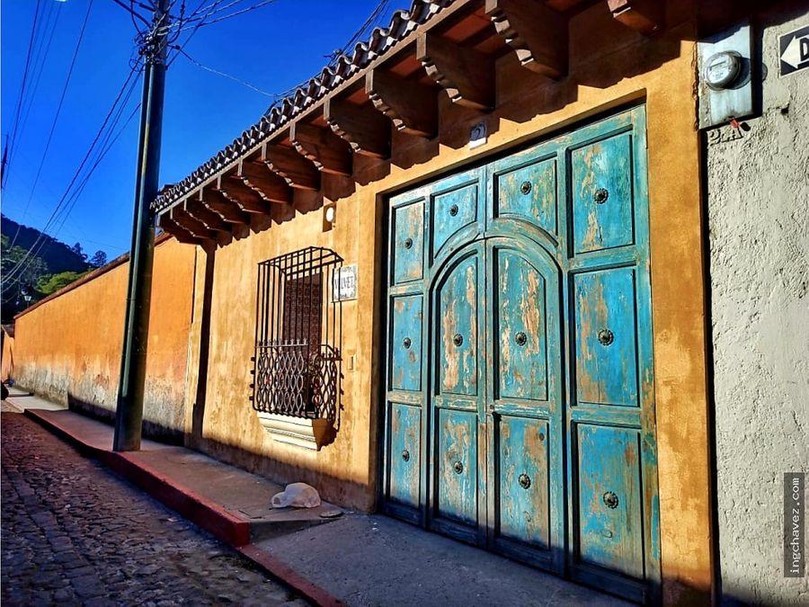 alquilo casa en antigua guatemala