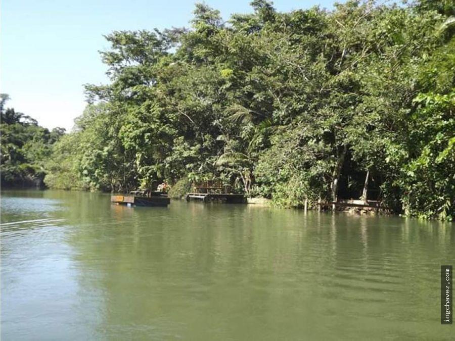 vendo terreno en rio tatin rio dulce