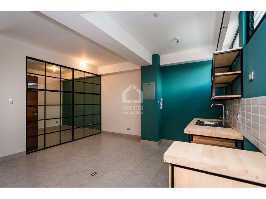 apartamento de 2 habitaciones en alquiler zona 6