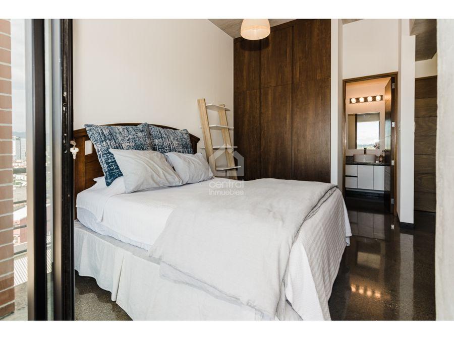 apartamento estudio amueblado en renta en 4 grados norte