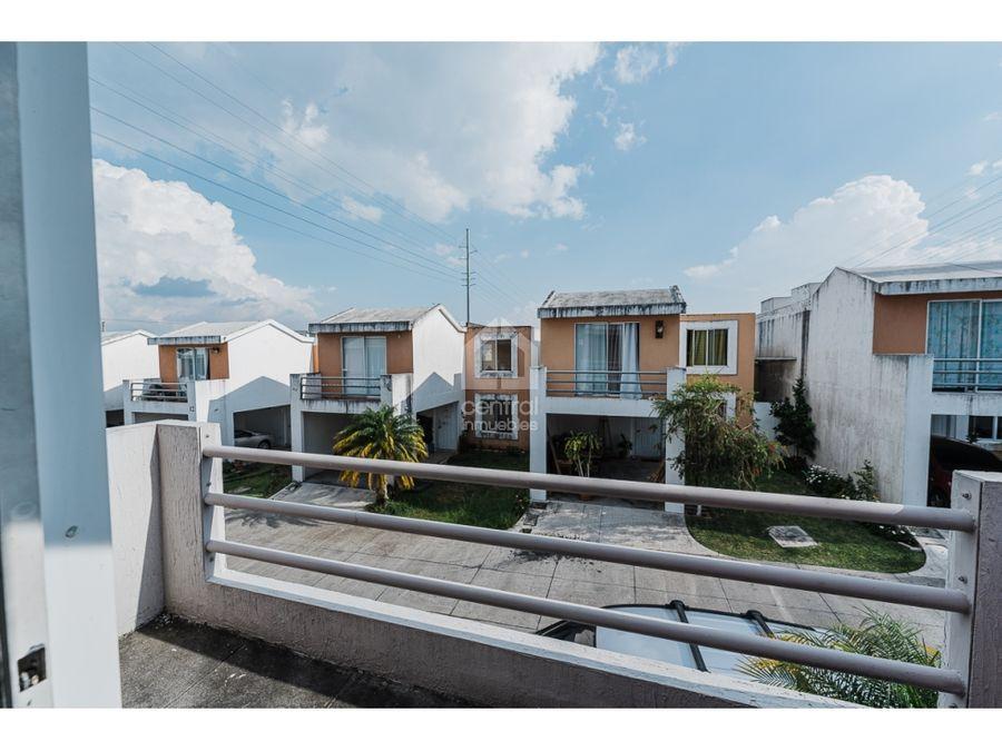 casa con 4 habitaciones en pradera de las flores san cristobal mixco