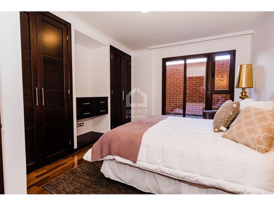 apartamento en venta con 3 habitaciones y terraza en zona 10